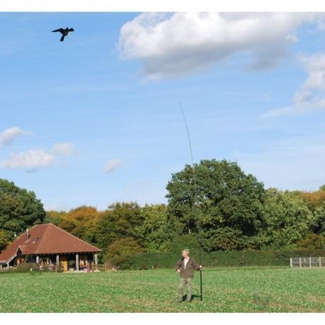 Skræmmefugl høg komplet sæt 10 m